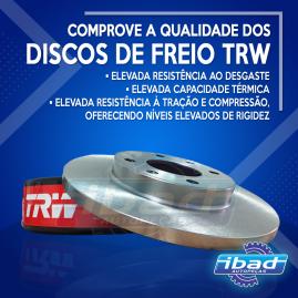 Disco de freio TRW