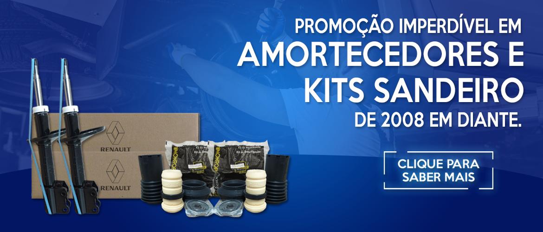 Promoção de Amortecedores e Kits Renaul Sandero